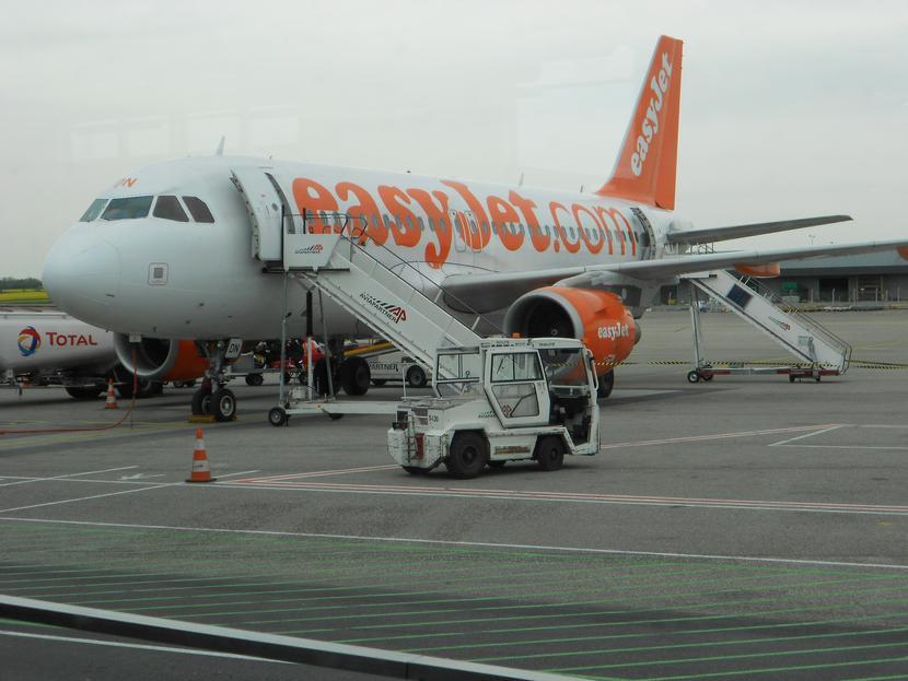 Samolot linii lotniczej EasyJetFot. Hugo Petitjean/Pixabay