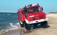 Strażackie wozy pojadą na plaże