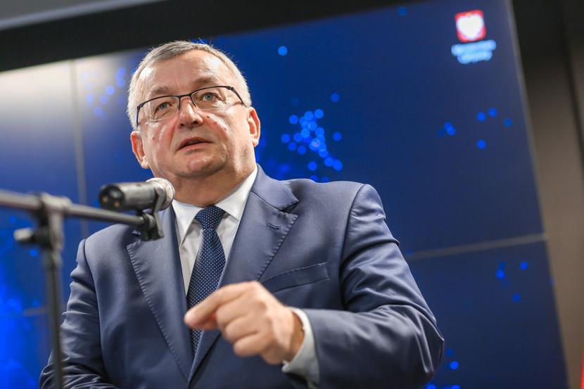Minister infrastruktury Andrzej Adamczyk, fot. Marek Wiśniewski