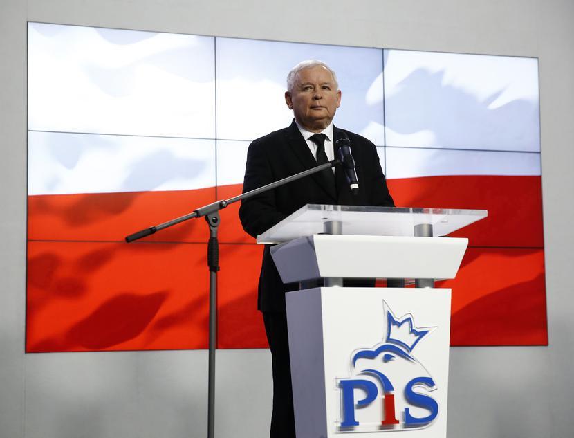 Jarosław Kaczyński, prezes PiS; REUTERS/Kacper Pempel/FORUM