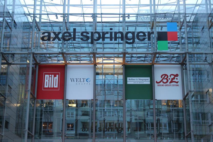 Siedziba wydawnictwa Axel Springer w Berlinie