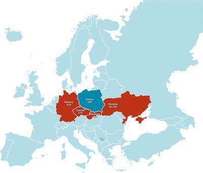 """Na koniec 2018 r. w Polsce było 339 przypadków odry. """"Może się to wydawać niedużo w porównaniu z Ukrainą, gdzie było ok. 35 tys. zachorowań, co oznacza wzrost 30-krotny w ciągu roku, ale w naszym kraju jest on blisko sześciokrotny.Ok. 1/3 to przypadki zawleczone"""" — mówi prof. Jackowska. Chorują przede wszystkim osoby między 20. a 40. r.ż., w większości nieszczepione lub które otrzymały tylko jedną dawkę szczepionki, dzieci przed drugim rokiem życia nieszczepione."""