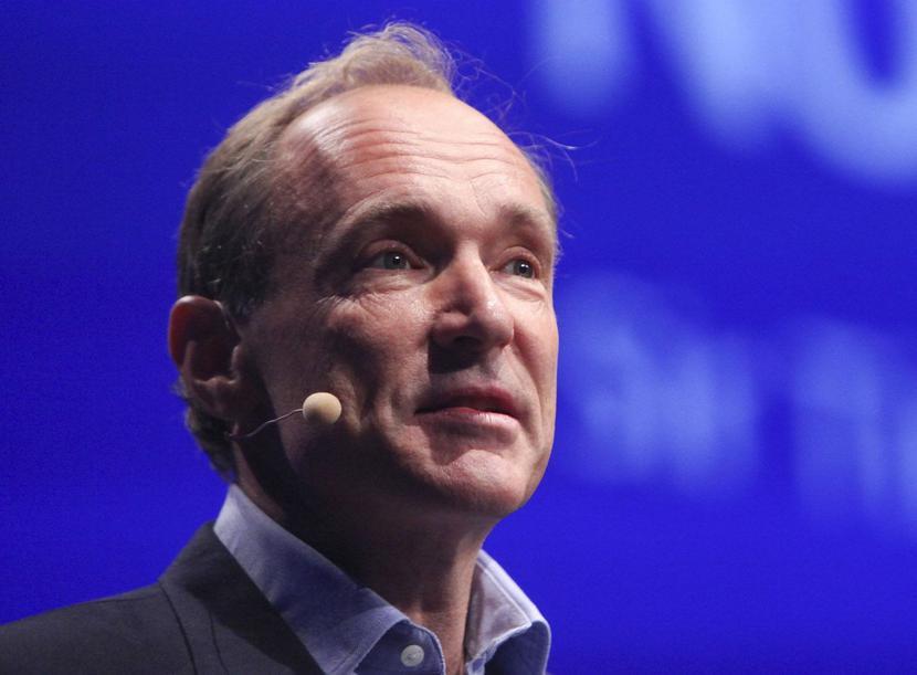 Sir Tim Berners-Lee, fot. Bloomberg