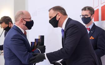 Prof. Henryk Skarżyński ponownie nagrodzony Nagrodą Gospodarczą Prezydenta RP