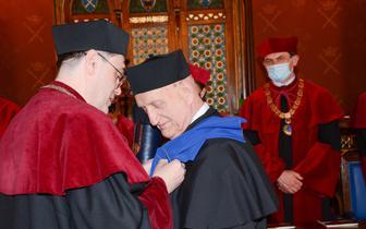 Prof. Marek Krawczyk z doktoratem honoris causa Uniwersytetu Jagiellońskiego