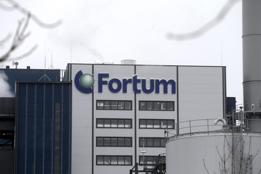 Jeden z zakładów koncernu Fortum