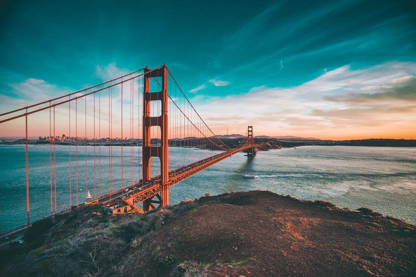 Most Golden Gate w San Francisco, Kalifornia