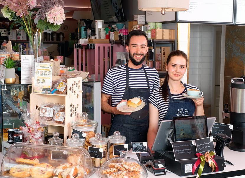 Kawiarnia The White Bear Coffee w BIałymstoku