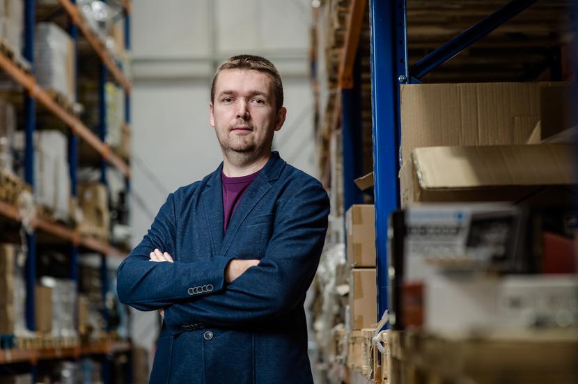 Inwestycje w skalę: Baltrade, którego wiceprezesem jest Michał Seredziński, za około 10 mln zł zamierza postawić w Gdańsku nowy magazyn. Inwestycja ułatwi obsługę zamówień, których szybko przybywa. Przychody spółki rosną w tempie 20 proc. rocznie.