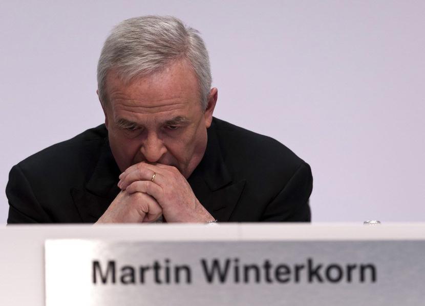 Martin Winterkorn, fot. Bloomberg