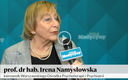 Prof. dr hab. Irena Namysłowska: W psychiatrii dziecięcej zmienił się profil pacjentów [WIDEO]