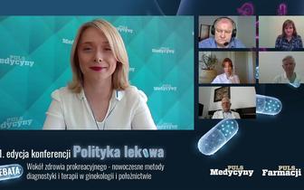 """Konferencja """"Polityka lekowa"""". Wokół zdrowia prokreacyjnego - nowoczesne metody diagnostyki i terapii w ginekologii i położnictwie"""