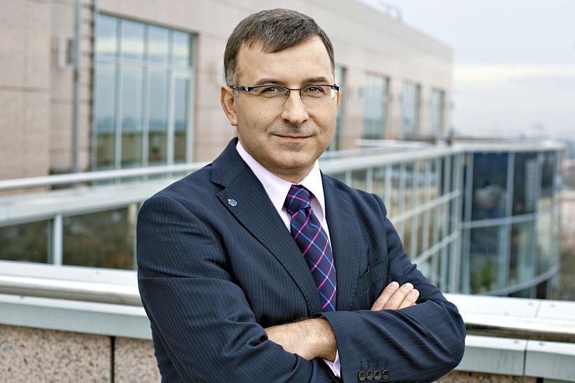 Zbigniew Jagiełło, prezes PKO BP, fot. ARC