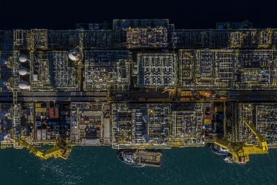 Brazylia. Angra dos Reis. Statek Petroleo Brasileiro (Petrobras). Brazylia jest jednym z  ważniejszych eksporterów ropy naftowej na świecie.