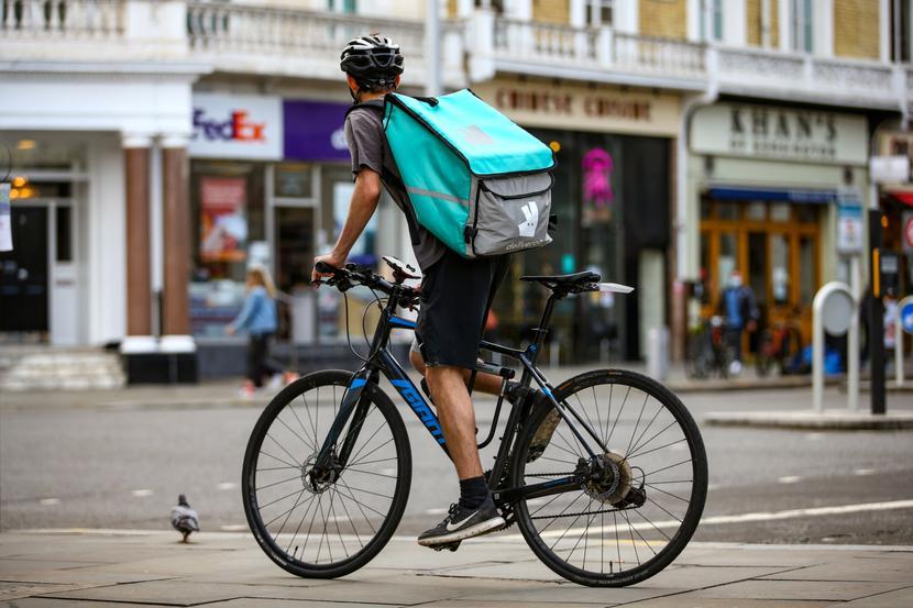 Deliveroo Fot. Bloomberg