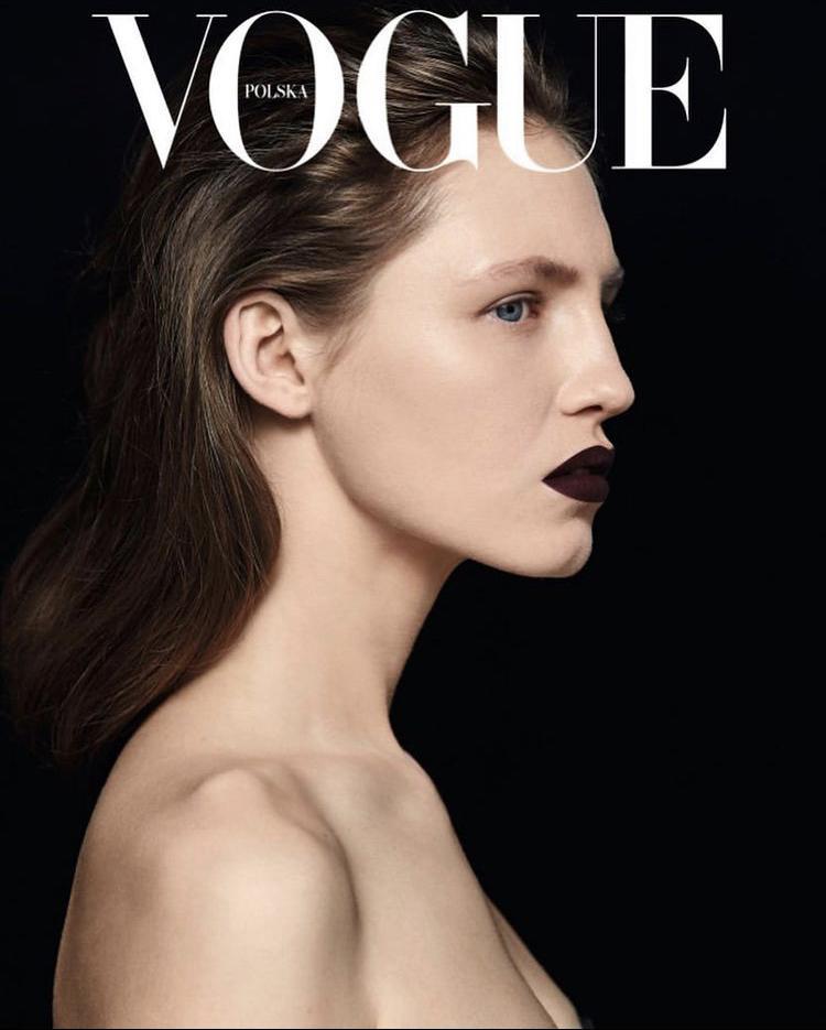 """Zdjęcie Pauliny Łachnik z marcowego wydania magazynu """"Vogue Polska"""""""