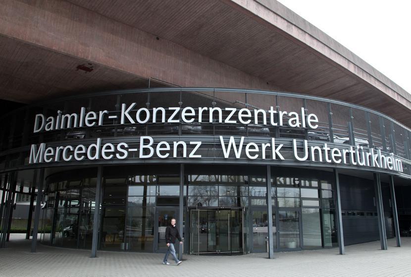 Centrala koncernu Daimler w Stuttgarcie