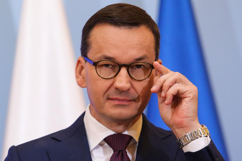 Mateusz Morawiecki, fot. Andrzej Hulimka / Forum