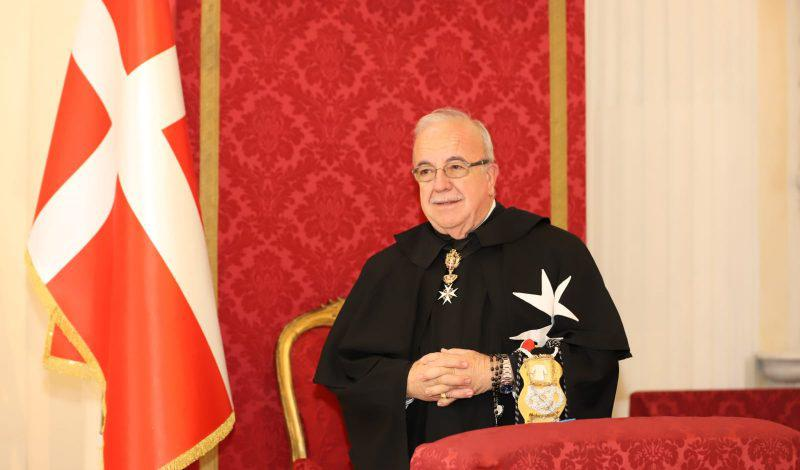 Marco Luzzago, nowy wielki mistrz Zakonu Kawalerów Maltańskich