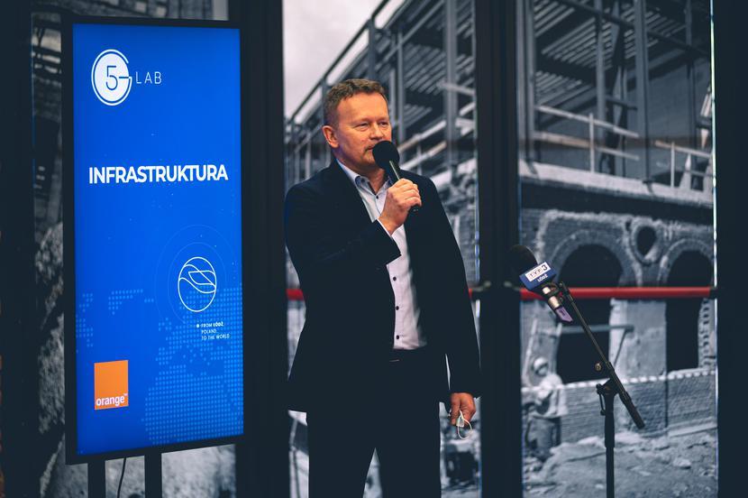 Piotr Jaworski, członek zarządu ds. technologii i sieci, Orange Polska